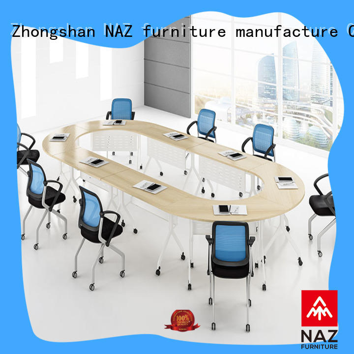 comfortable square conference table ft001c for conference for training room