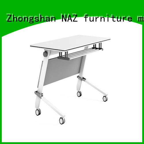 NAZ furniture wooden foldable training table multi purpose for home