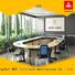 NAZ furniture movable oval conference table for conference for office