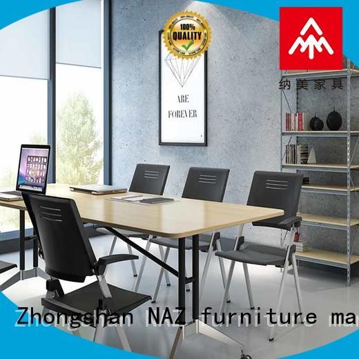 NAZ furniture frame conference tables on wheels