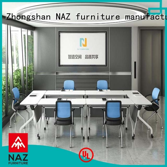 movable square conference table end for conference for training room