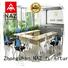 NAZ furniture aluminum folding conference room tables with wheels manufacturer for training room