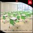 NAZ furniture school fold up study desk on wheels for school