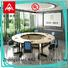NAZ furniture ft019c folding conference table on wheels for training room