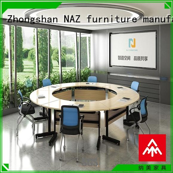 NAZ furniture ft016c foldable office furniture on wheels for school