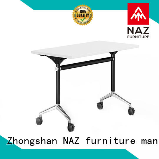 NAZ furniture trapezoid office training furniture for sale for meeting room