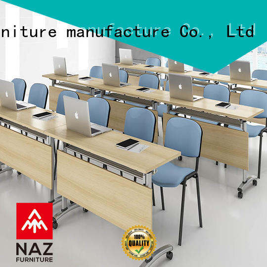 NAZ furniture professional boardroom table on wheels for training room