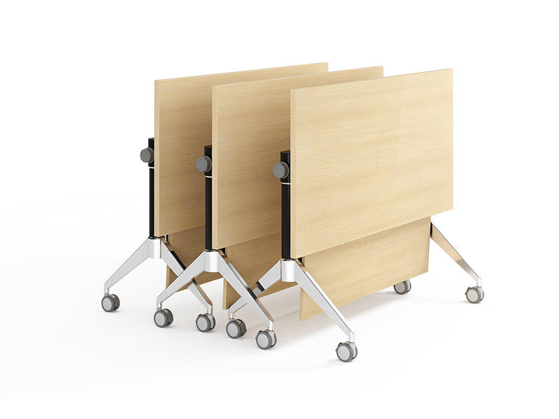 comfortable folding conference room tables with wheels conference for conference for training room-3
