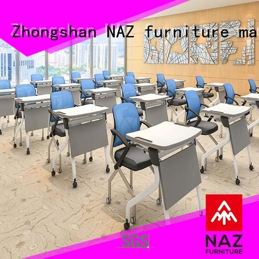 NAZ furniture desk folding desk factory for meeting rooms