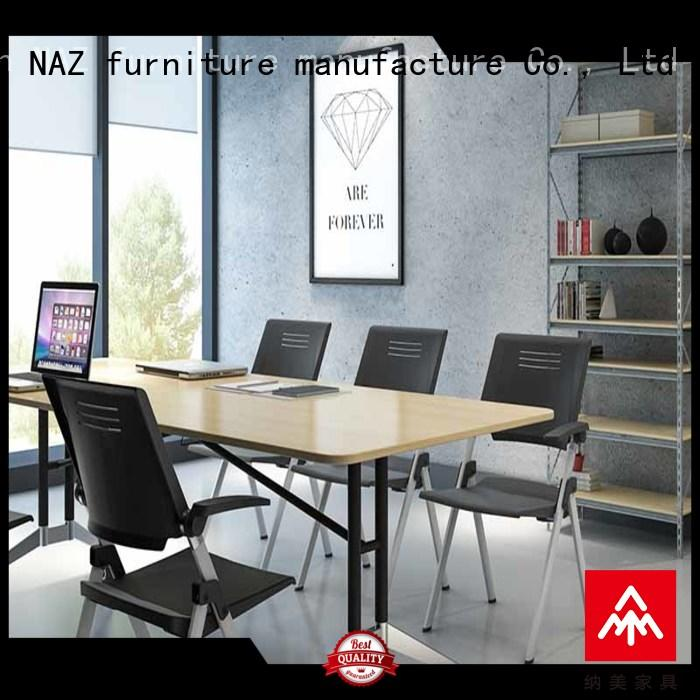 NAZ furniture durable conference room tables folding for sale for school