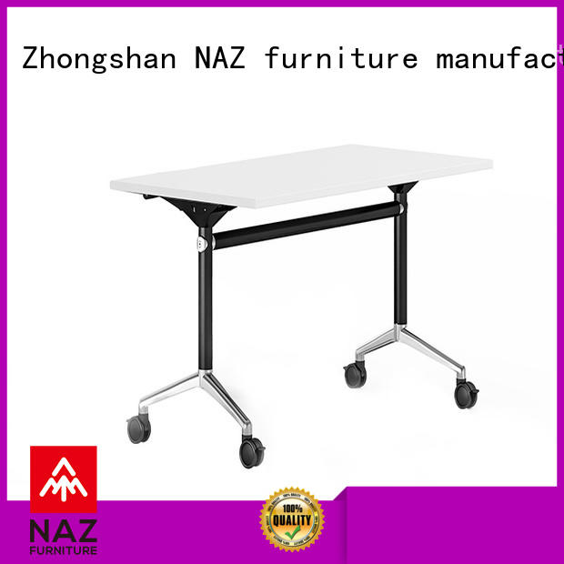 NAZ furniture ft001 training room furniture with wheels for school