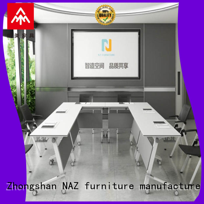 NAZ furniture professional oval conference table for conference for training room