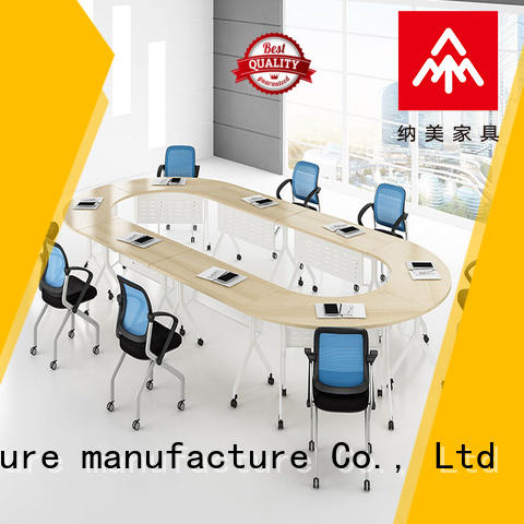 NAZ furniture movable 12 conference table for sale for training room