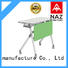 trapezoid foldable training table for conference for home