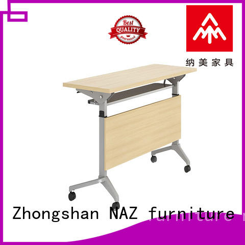 NAZ furniture 8001200140016001800mm flip top training tables multi purpose for office