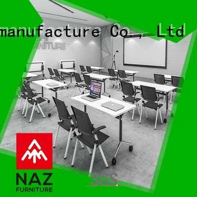 NAZ furniture wheels modular conference table design for sale for training room