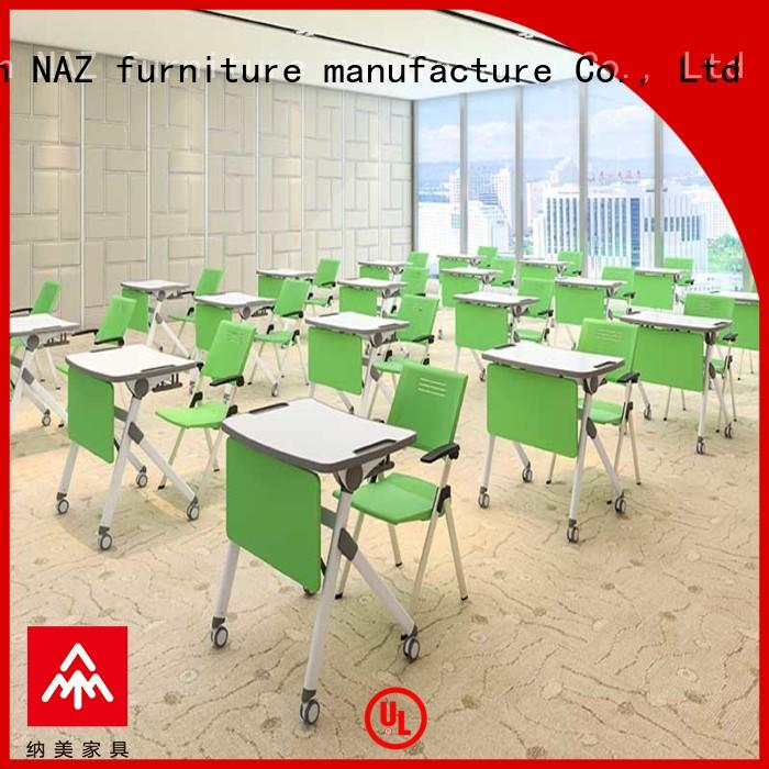 NAZ furniture ft010s folding school desk wholesale for training rooms