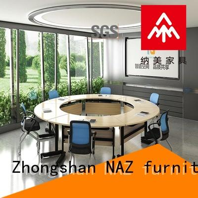 NAZ furniture professional foldable boardroom table for sale for school