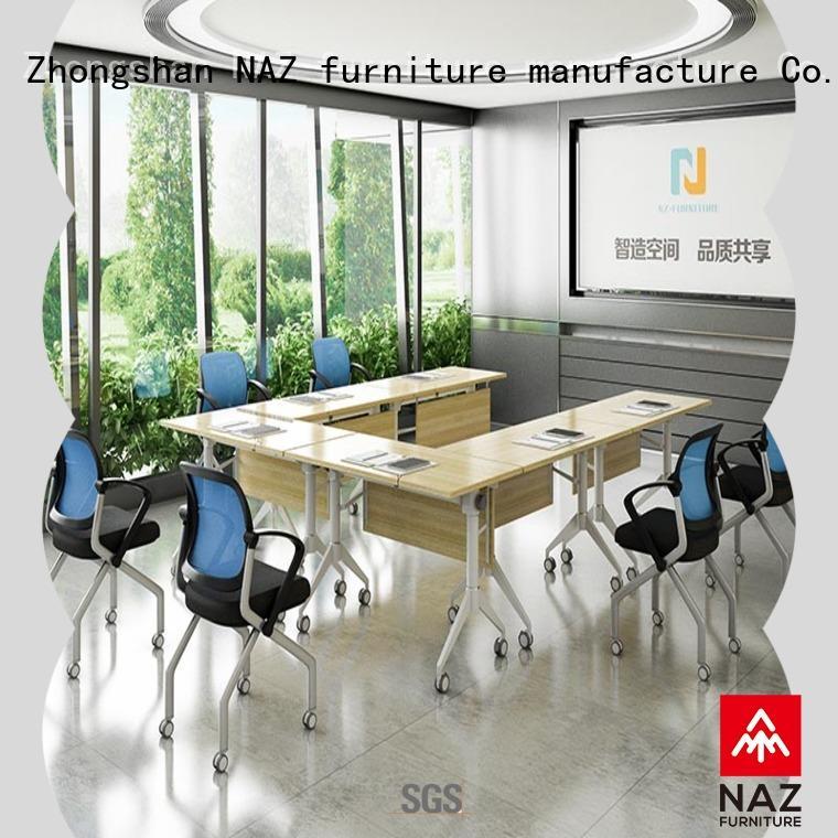 NAZ furniture shape foldable office furniture on wheels for school