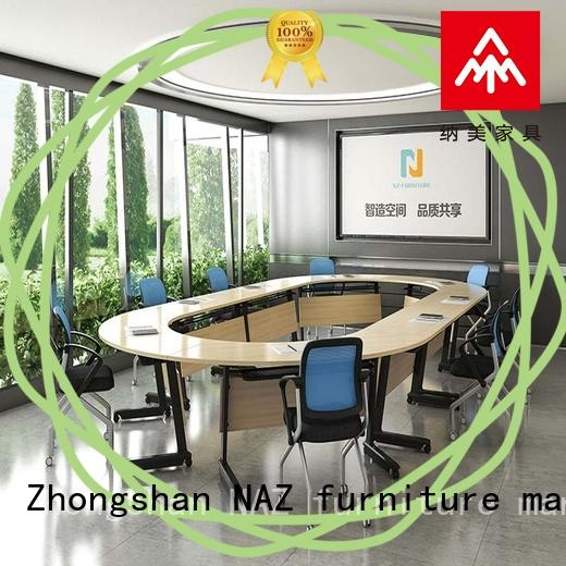 movable square conference table ft016c manufacturer for office