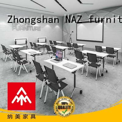 comfortable mobile conference table aluminum for sale for training room