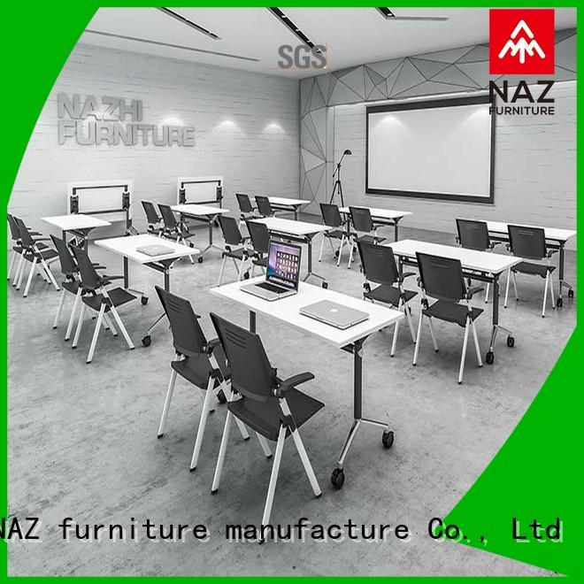 NAZ furniture ft020c office conference room table on wheels for school