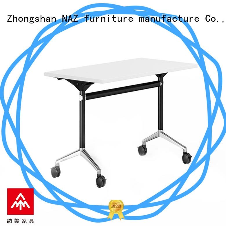 NAZ furniture writing flip top training room tables supply for training room