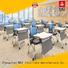 NAZ furniture folding folding study desk on wheels for meeting rooms