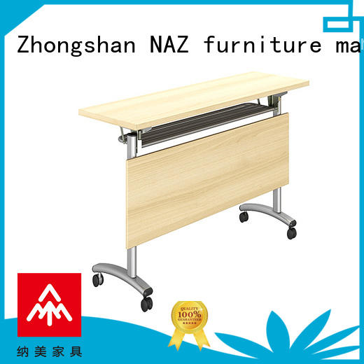 800/1200/1400/1600/1800MM Folding training table/ wooden front panel FT-006