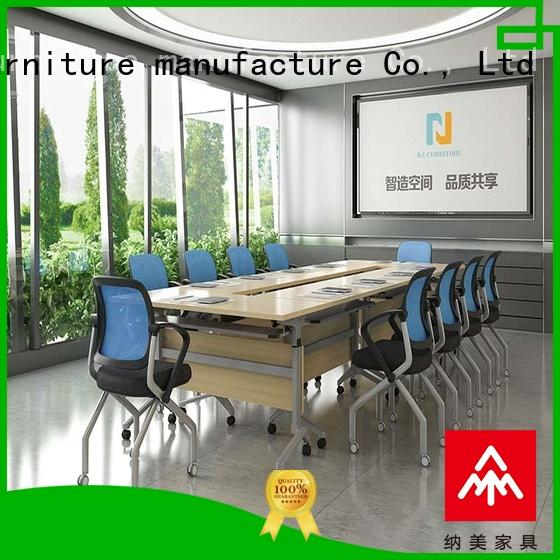 NAZ furniture ft005c 10 conference table on wheels for meeting room