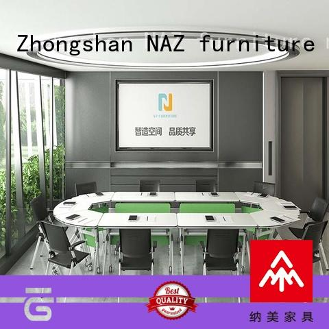 ft005c white conference table for conference for office NAZ furniture