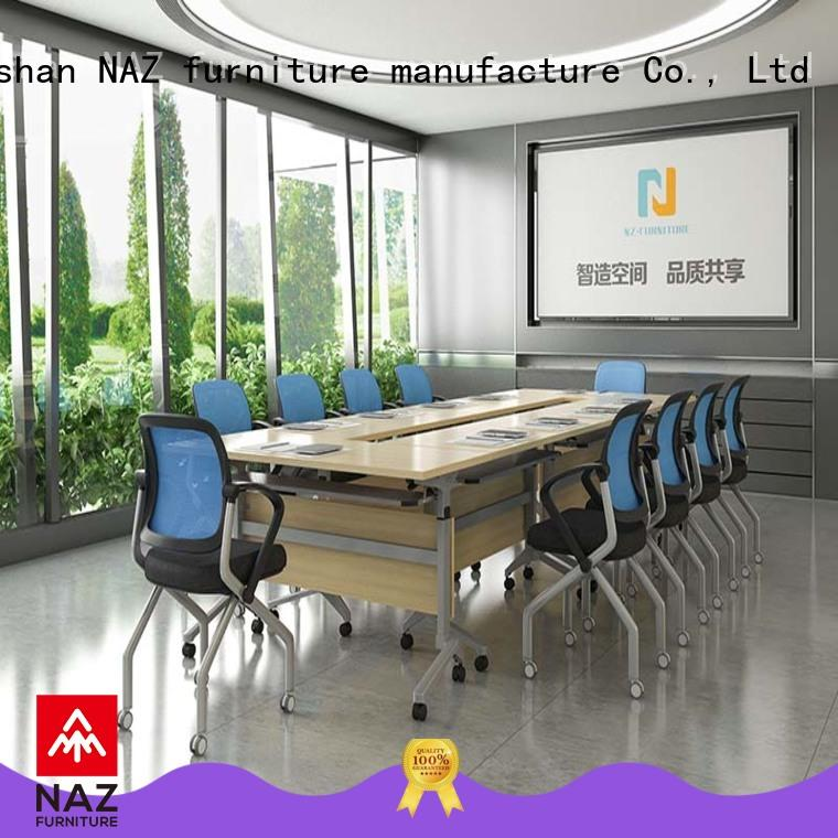 NAZ furniture movable meeting room table for sale for training room