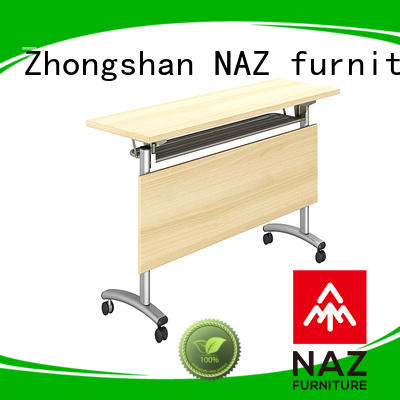 NAZ furniture trapezoid conference training tables supply for home