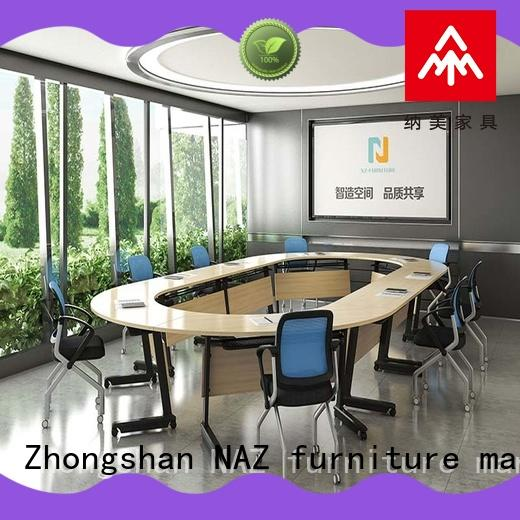 NAZ furniture w20002400d10001200h750mm folding conference tables for conference for office