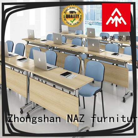 NAZ furniture comfortable conference room tables folding manufacturer for training room