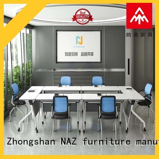 NAZ furniture design conference table on wheels