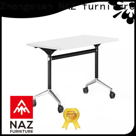 NAZ furniture trapezoid training room tables and chairs for sale for school