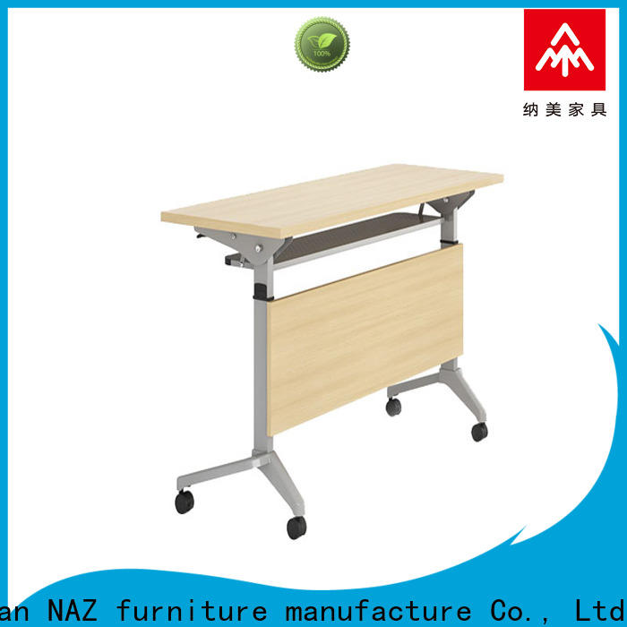 NAZ furniture writing training tables and chairs for sale for training room