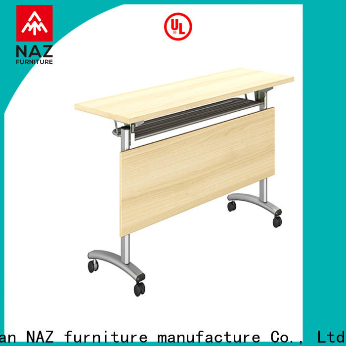 NAZ furniture movable training room desks multi purpose for meeting room