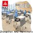 NAZ furniture 8001200mm foldable study desk on wheels for meeting rooms