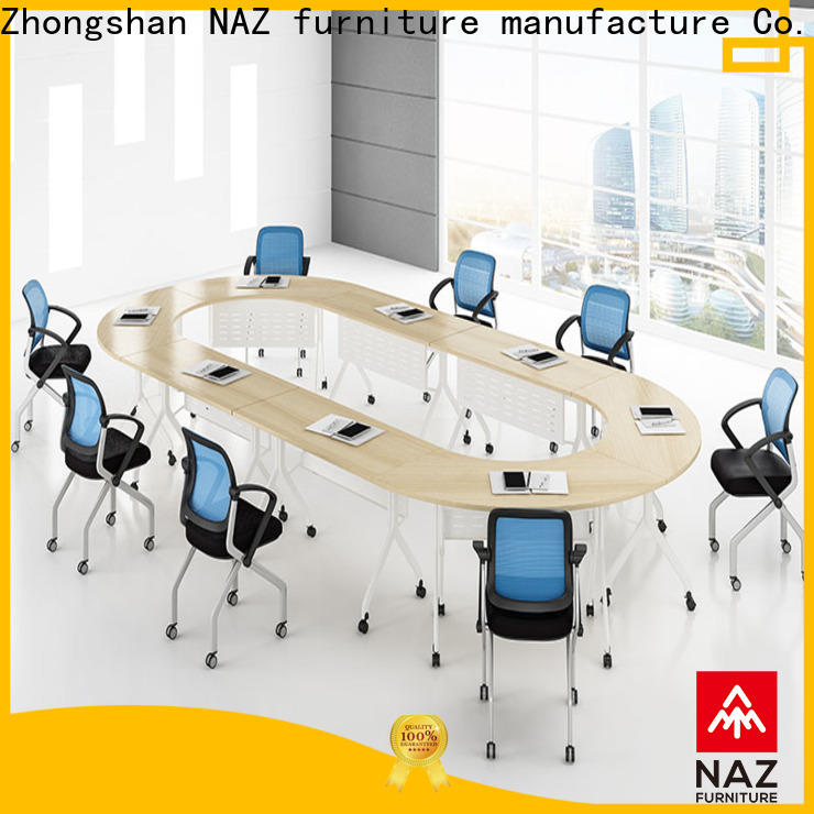 movable 12 conference table durable on wheels for training room