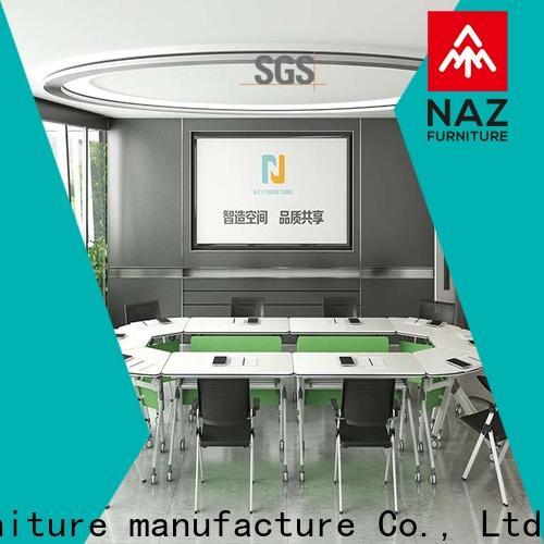 NAZ furniture movable modular conference room tables manufacturer for school