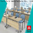 NAZ furniture oneclick flip top conference tables on wheels for meeting room