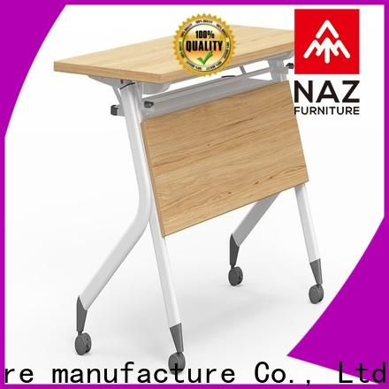 NAZ furniture designed flip top training tables multi purpose for training room