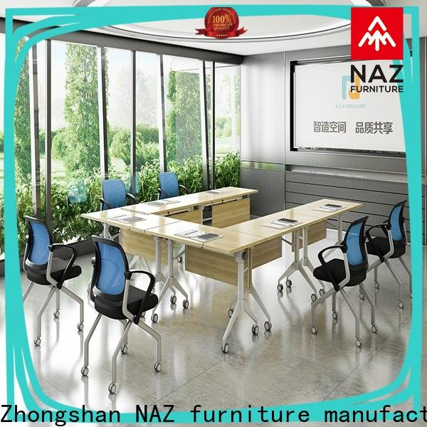 NAZ furniture durable folding conference tables for sale for meeting room