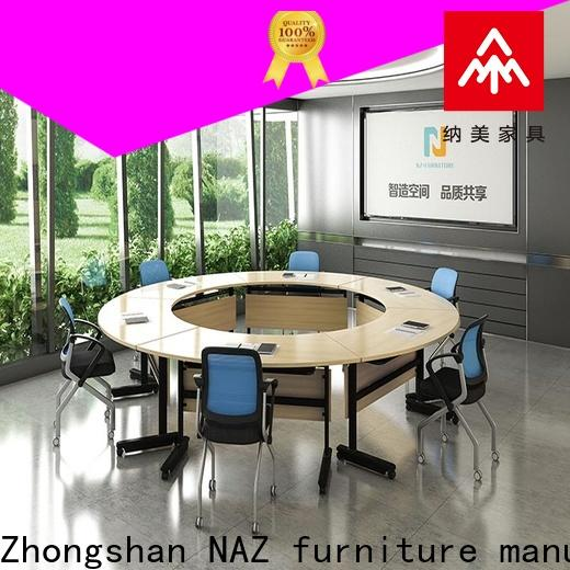 professional modular conference table room on wheels for training room