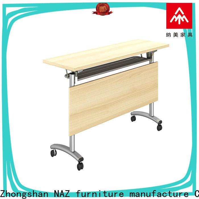 NAZ furniture designed flip top training tables supply for school
