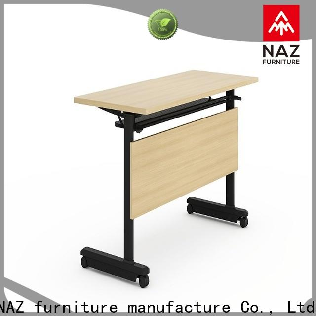 NAZ furniture ft011 training tables with wheels with wheels for school
