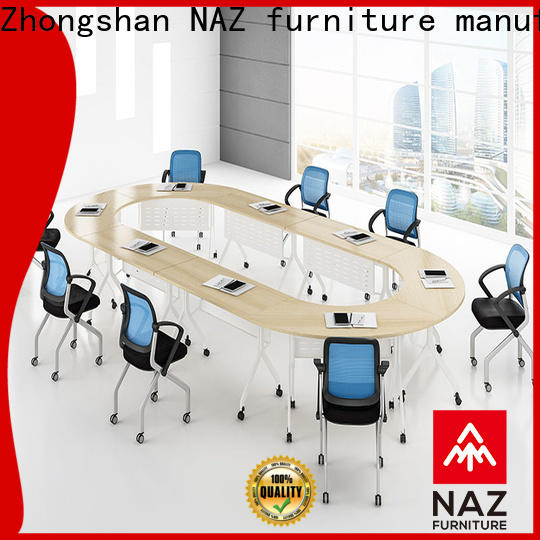 NAZ furniture flip portable conference room tables for sale for meeting room