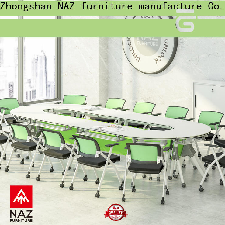 durable 12 person conference table ft012c on wheels for school
